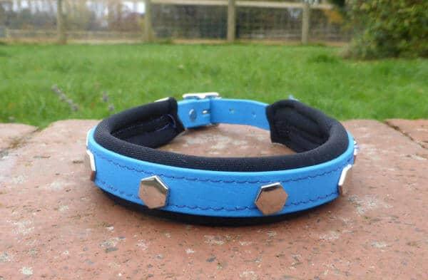 Padded Bling Dog Collar-1447